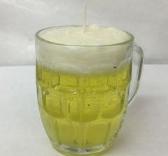 Candle Drink. Beer Candle