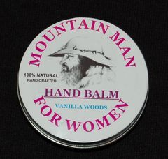 WOMENS HAND BALM VANILLA WOODS 2oz