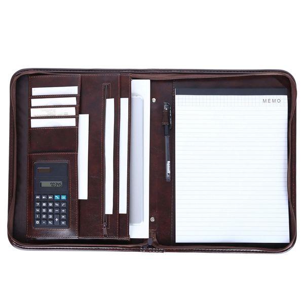 zip portfolio organizer folder
