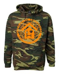 BUY ONE GIVES ONE! OPERATION TREE HOUSE CAMO HOODIE!