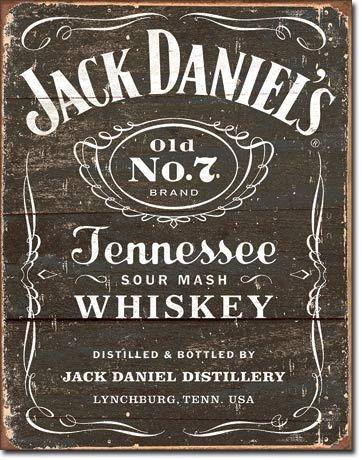 Jack Daniel's Vintage Metal Sign