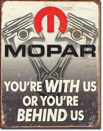 MOPAR Vintage Metal Sign