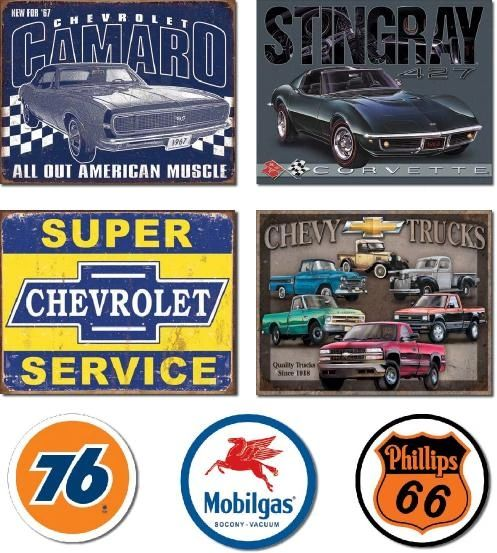 Chevy Sign Bundle