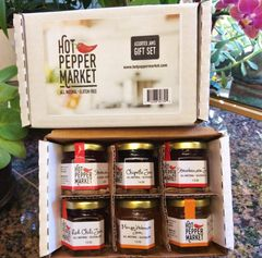 Gift Set assorted 6 jams, 1.5 oz each