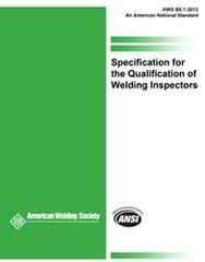 B5.1:2013-AMD1 Specification for the Qualification of Welding Inspectors