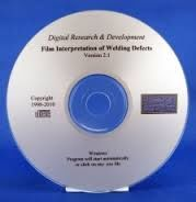 ASNT-3450E Film Interpretation of Welding Defects (CD-ROM) (Video Presentation)