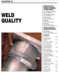 WHC1.13 Weld Quality, AWS