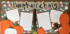 Pumpkin Picking Layout Kit by Mrs. Crafty