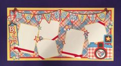 BIG HAPPY SMILE LAYOUT KIT BY SCRAPBOOKING WITH MRS. C
