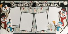 Frosty Friends Layout Kit by Scrapbooking with Mrs. C