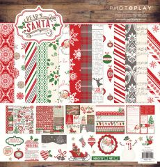 Photoplay Paper Dear Santa 12 x 12 Collection Kit