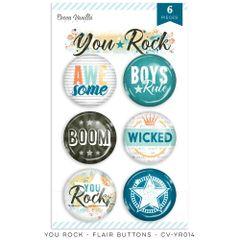 Cocoa Vanilla Studio YOU ROCK Flair Buttons