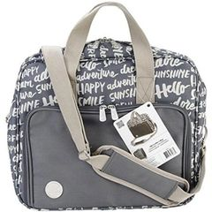 WE R MEMORY KEEPERS-Crafters Shoulder Bag Charcoal