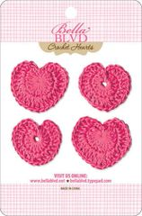 Bella Blvd Crochet Hearts - Punch