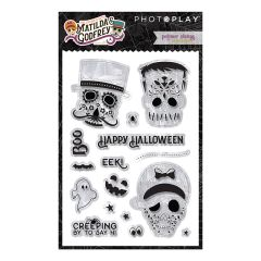 PhotoPlay Matilda & Godfrey Halloween Polymer Stamps
