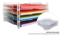 WE R MEMORY KEEPERS Stackable Nesting Paper Trays