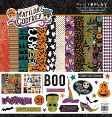 PhotoPlay Matilda & Godfrey Halloween 12 x 12 Collection Kit