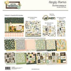 Simple Stories Spring Farmhouse 12 x 12 Collector's Essential Kit