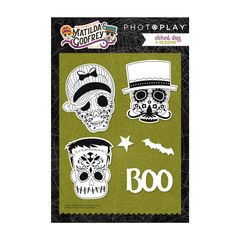 PhotoPlay Matilda & Godfrey Halloween Etched Die