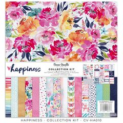 Cocoa Vanilla Studio HAPPINESS 12 x 12 Collection Kit