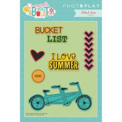 Photo Play Paper - Summer Bucket List Die Set - Icons