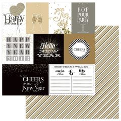 PhotoPlay Color Play Hello New Year 12 x 12 Cardstock Countdown