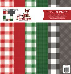 PHOTOPLAY MAD 4 PLAID CHRISTMAS SOLIDS AND CHECK Collection Pack