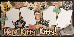 Here Kitty Kitty Layout Kit by Scrapbooking with Mrs.C