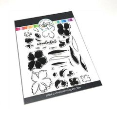 Catherine Pooler Wonderful Wildflowers Stamp Set
