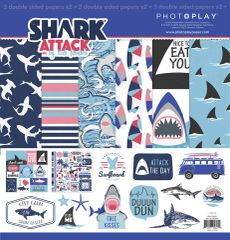 PhotoPlay Shark Attack 12 x 12 Collection Kit