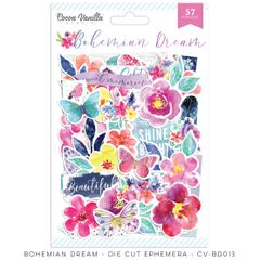 Cocoa Vanilla Studio Bohemian Dream Die Cut Ephemera