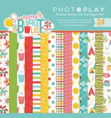 Photo Play Paper - Summer Bucket List 6 x 6 Paper Pad