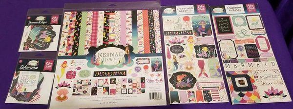Echo Park Mermaid Dreams Happy Scrappy Bag