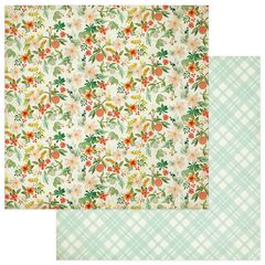 Photoplay Fresh Picked 12 x 12 Double Sided Cardstock Garden Fresh