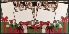 The Gift of Giving Layout Kit by Scrapbooking with Mrs. C