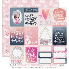 "Cocoa Vanilla Studio Midnight – ""All The Things"" Paper"