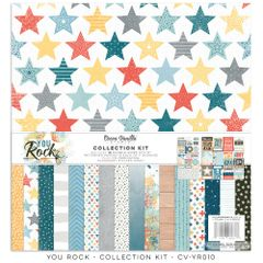 Cocoa Vanilla Studio You ROCK 12 x 12 Collection Kit