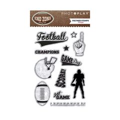 PhotoPlay End Zone Clear Stamps