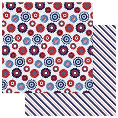 Photo Play Paper - Live Free Collection - 12 x 12 Double Sided Paper - Hometown Parade