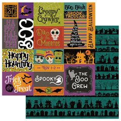 Photoplay Matilda & Godfrey Halloween Trick or Treat 12 x 12 double sided cardstock