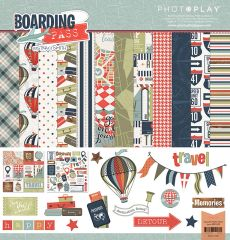 Photo Play Boarding Pass 12 x 12 Collection Pack