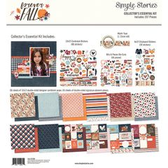 Simple Stories Forever Fall Collector's Essential Kit