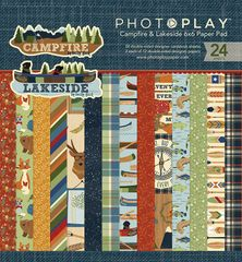 Photo Play Paper -6 x 6 Paper Pad Lakeside and Campfire