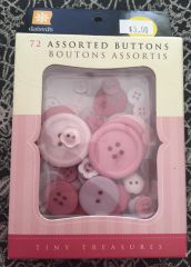 Daisy D's 72 Assorted Buttons