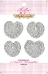 Bella Blvd Crochet Hearts - Scallop