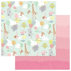 About a Little Girl 12 x 12 Double Sided Paper - Bundle of Joy