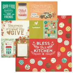 Photoplay Fresh Picked 12 x 12 Double Sided Cardstock Cards