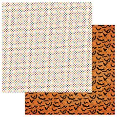 PhotoPlay Matilda & Godfrey Halloween Haunted House 12 x 12 Cardstock