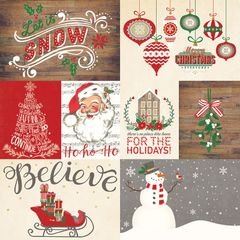 Dear Santa Let It Snow 12 x 12 Paper