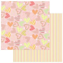 About a Little Girl 12 x 12 Double Sided Paper - So Sweet